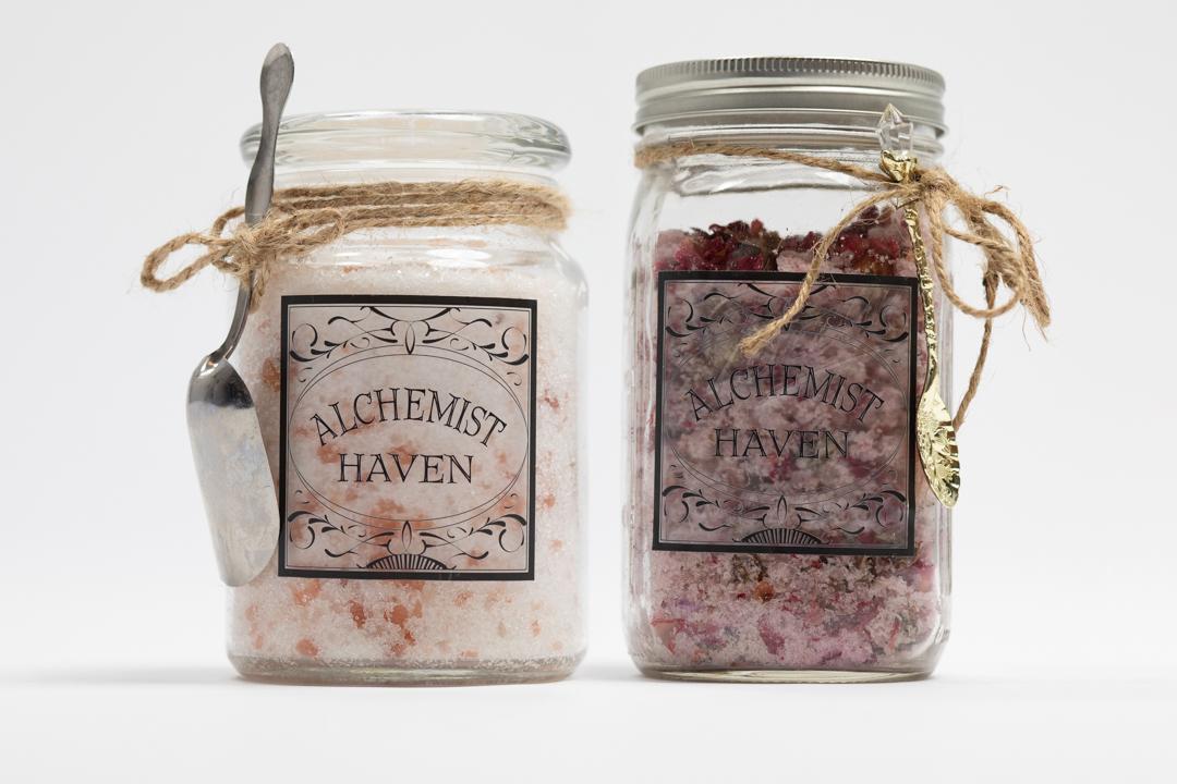 Alchemist Haven Bath Salts Commercial Photography