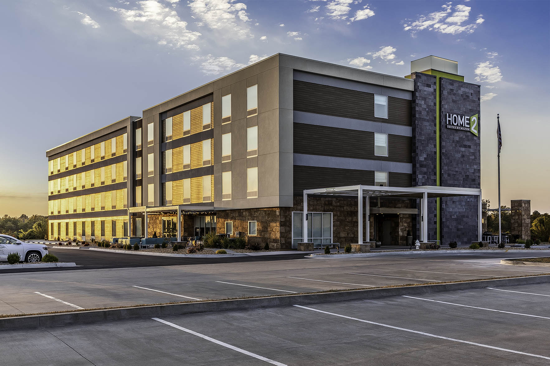 Home 2 Suites by Hilton Anderson Engineering Commercial Photography