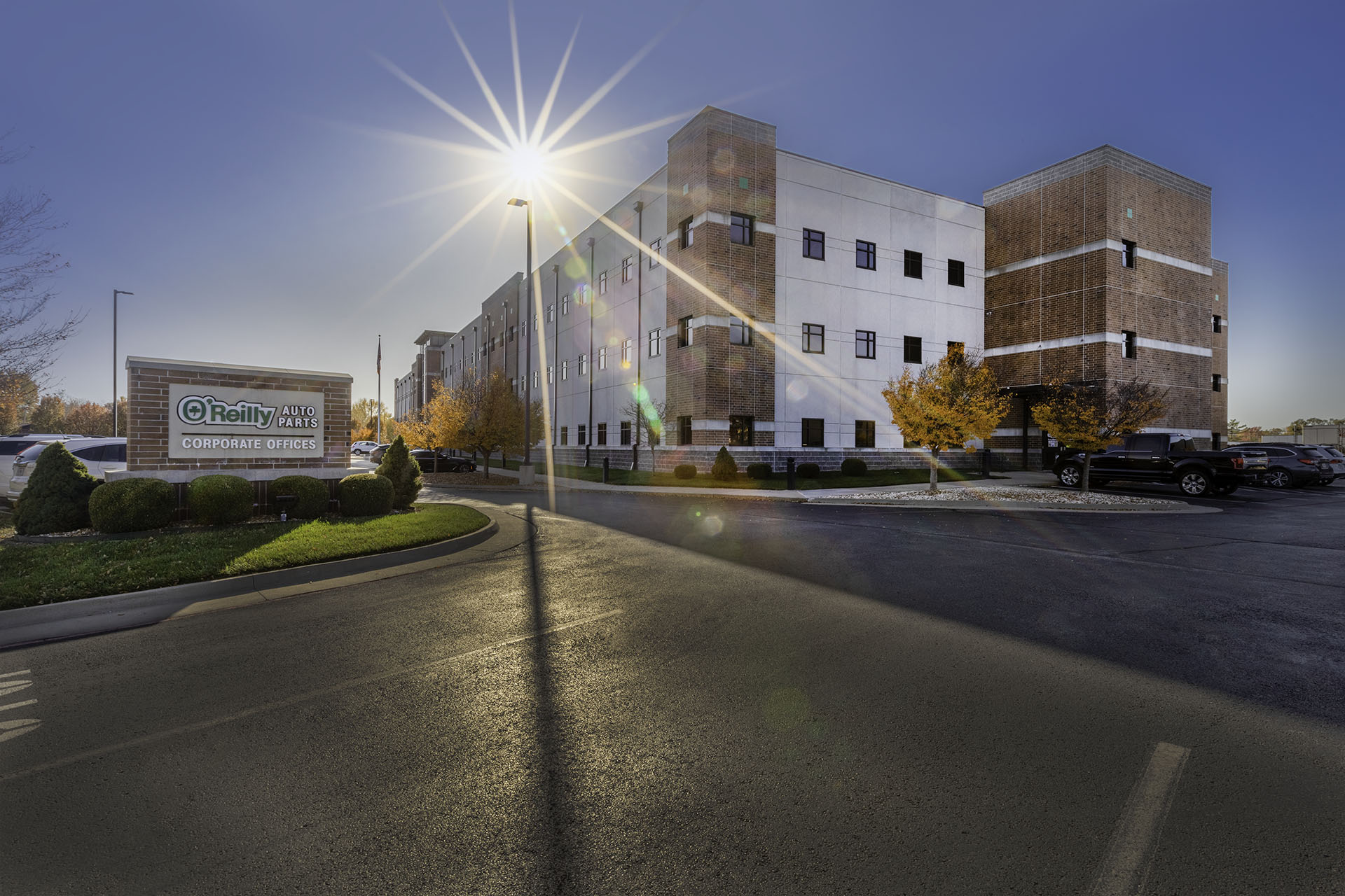 O'Reilly Corporate Offices Anderson Engineering Commercial Photography