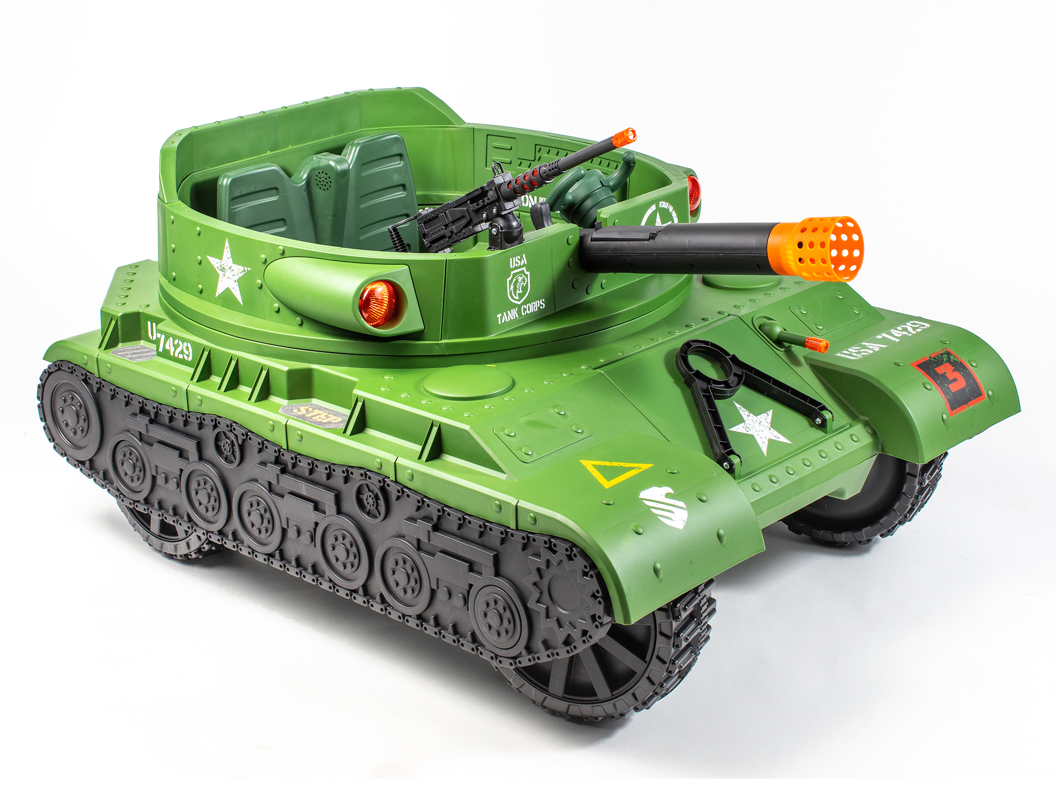 Action Wheels Tank Promo Packaging Commercial Photography
