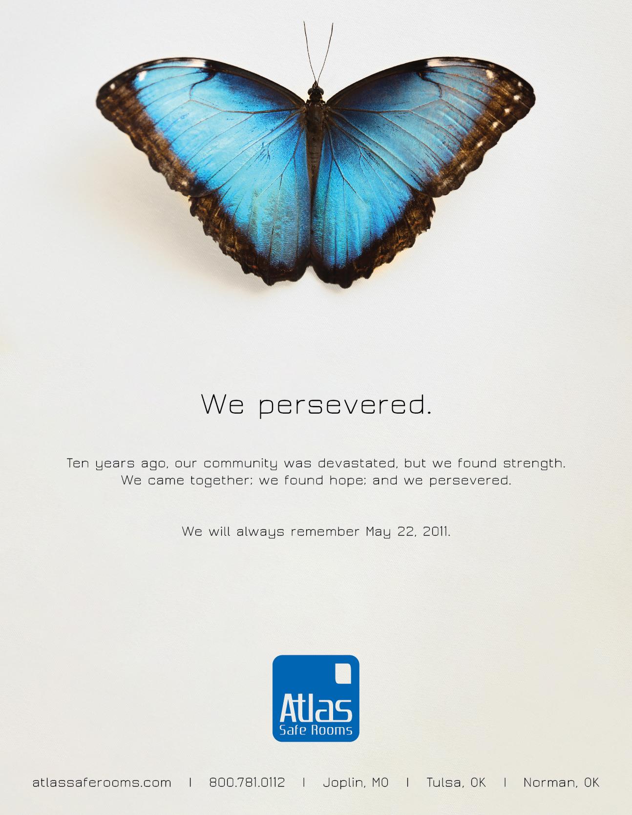 Atlas Safe Rooms Remembrance Poster Graphic Design Joplin Mo