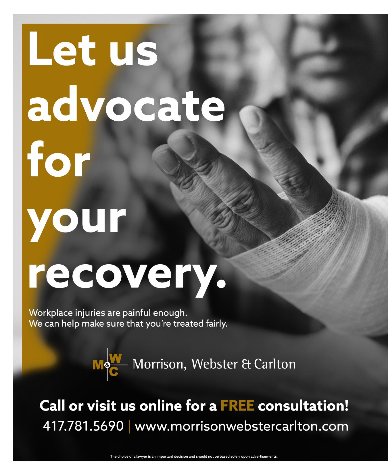 Morrison Webster Carlton Advertisement Graphic Design
