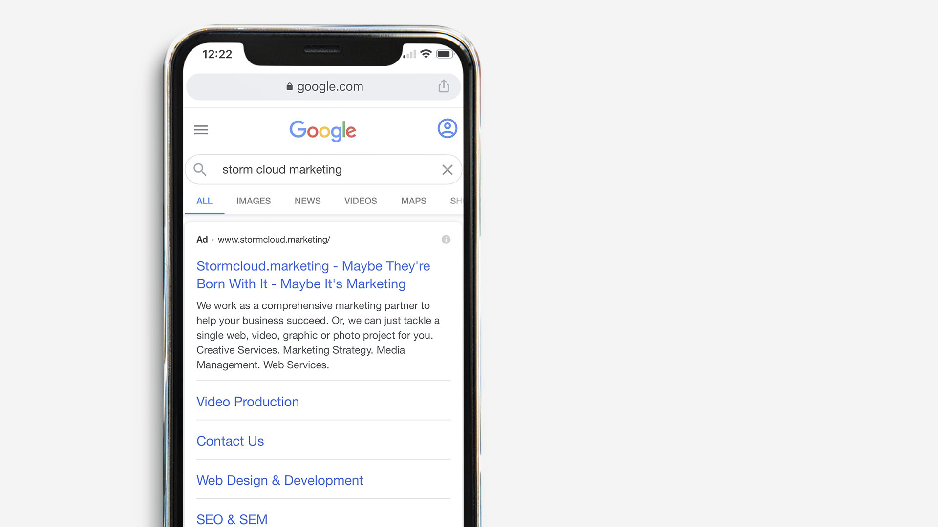 Off Site SEO Search Results