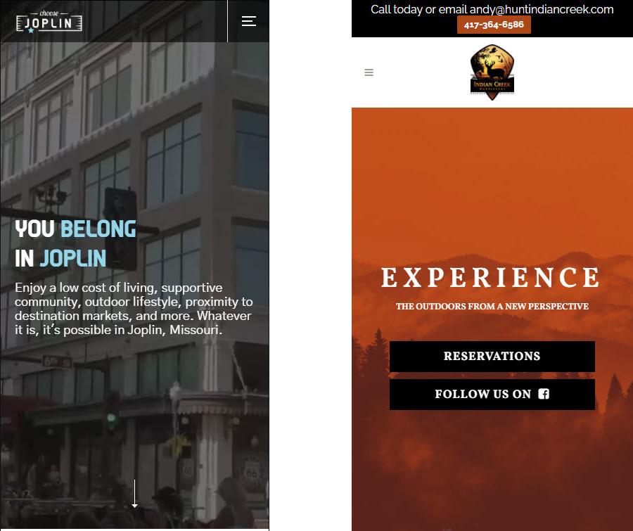 web design joplin mo mobile