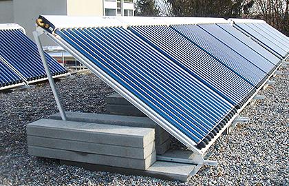Solarthermie von Solarline-Güttinger