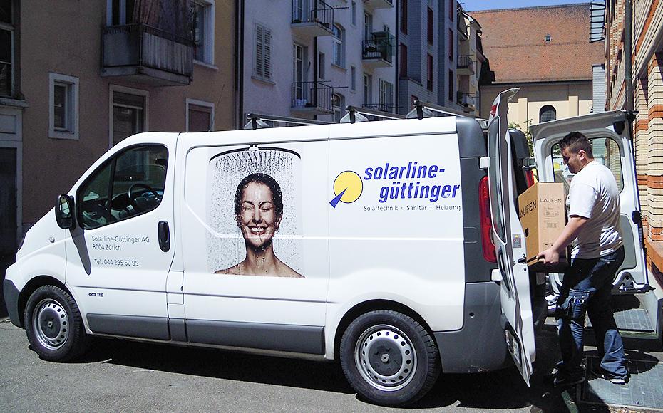 Service und Wartung - Solarline-Güttinger AG