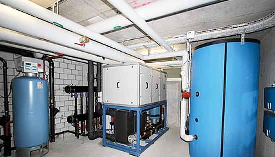 Wärmepumpen-Anlage von Solarline-Güttinger