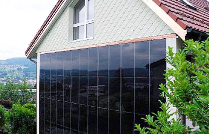 Photovoltaik-Fassade