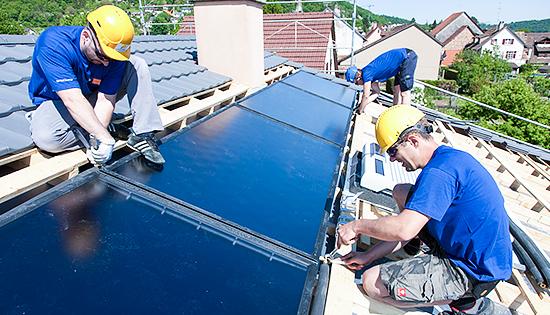 Solarkollektoren von Solarline-Güttinger