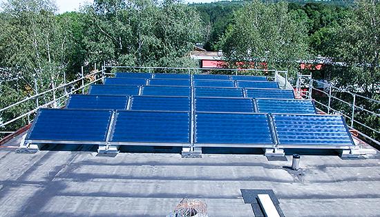 Dachisolation von Solarline-Güttinger