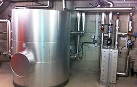 Warmwasserversorgung von Solarline-Güttinger