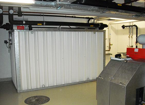 Eisspeicher von Solarline-Güttinger