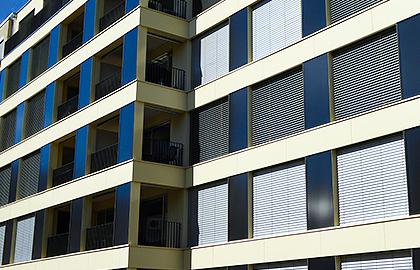 Solarthermie-Fassade von Solarline-Güttinger