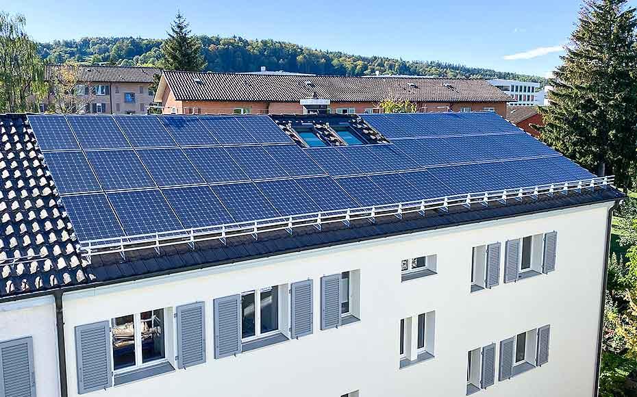 Gesamtsanierung MFH - Solarline-Güttinger