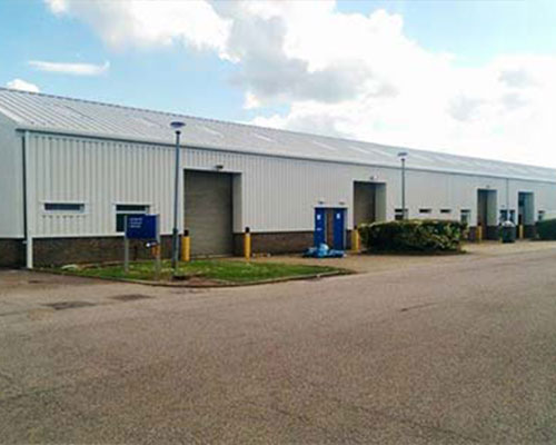 REFURBISHMENT OF 9 INDUSTRIAL UNITS AT PARK AVENUE