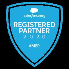Salesforce registered partner logo
