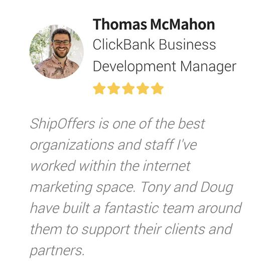 Customer Testimonial Thomas McMahon