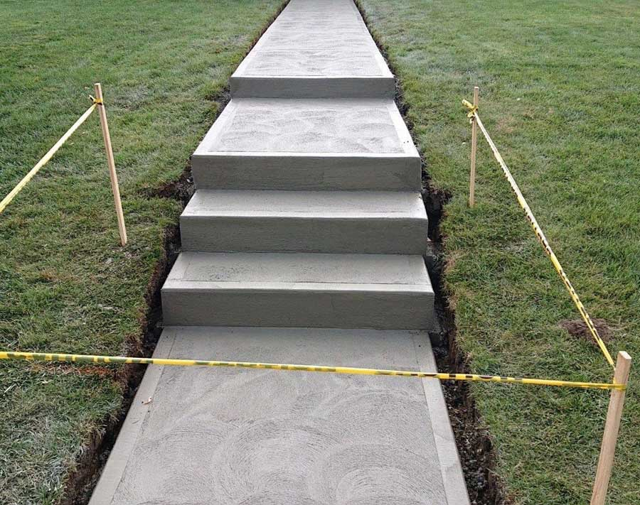 masonry services -steps