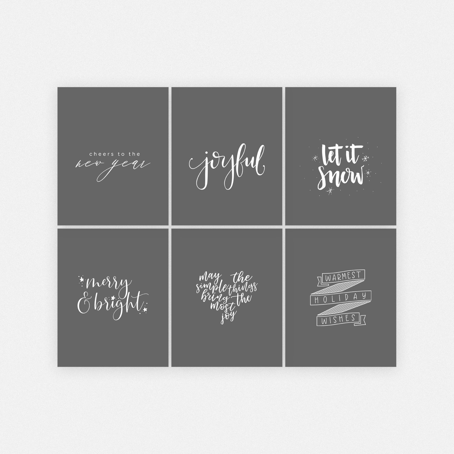 Handwritten overlay designs for product designs or social media