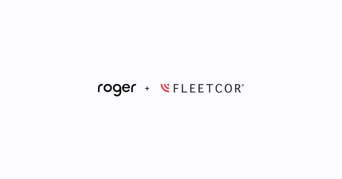 Roger acquired by FLEETCOR, a leading global business payments company