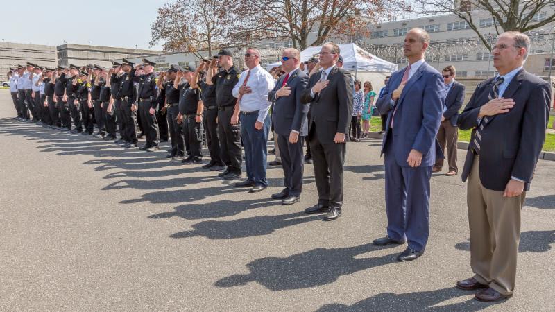 Sheriffs Dept. Memorial Service - 2018