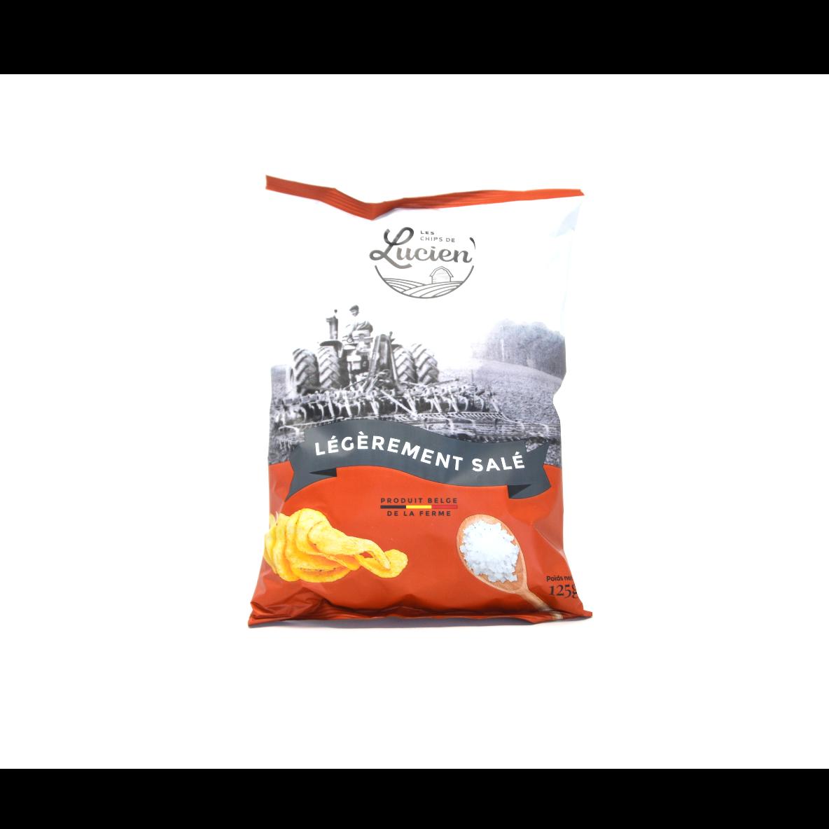 Chips légèrement salé 125g