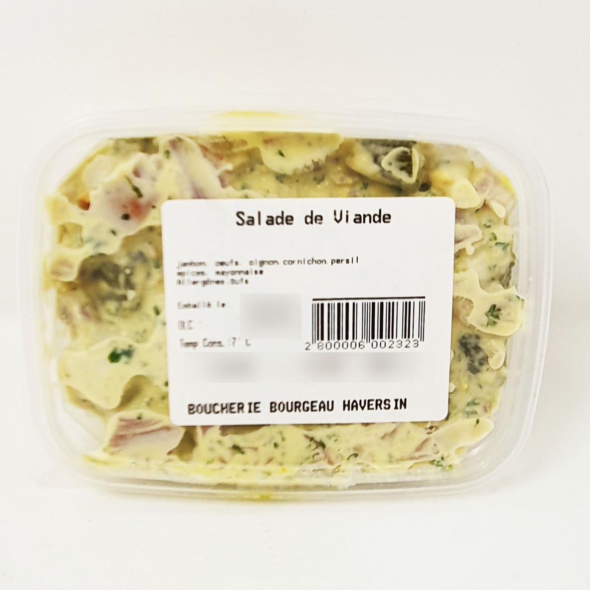 Salade de viande  +/-240 g