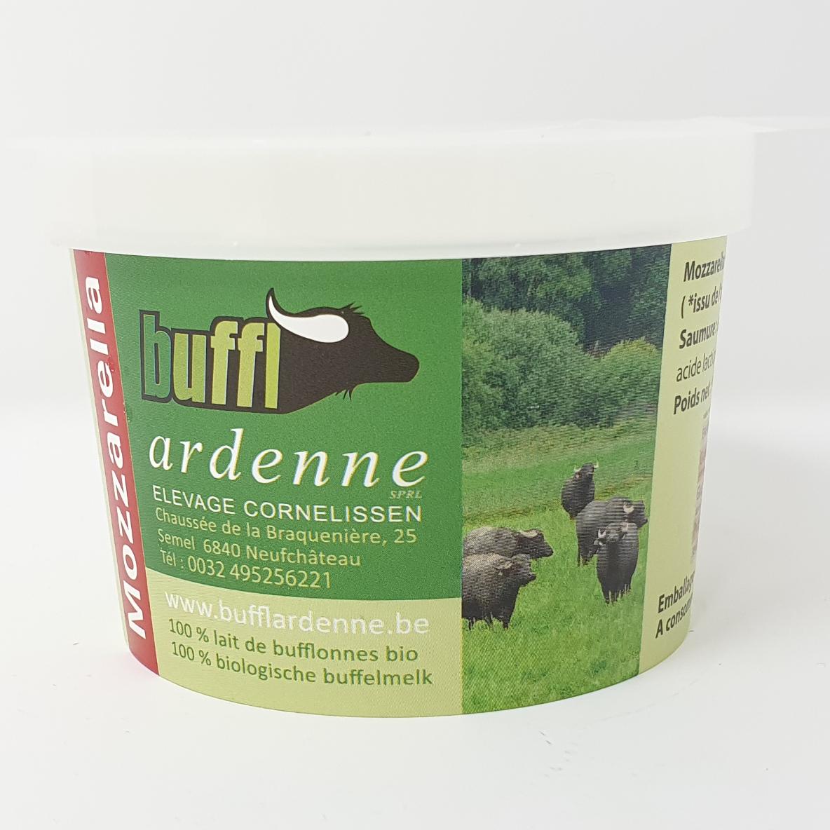 Mozzarella bufflonne bio 125g