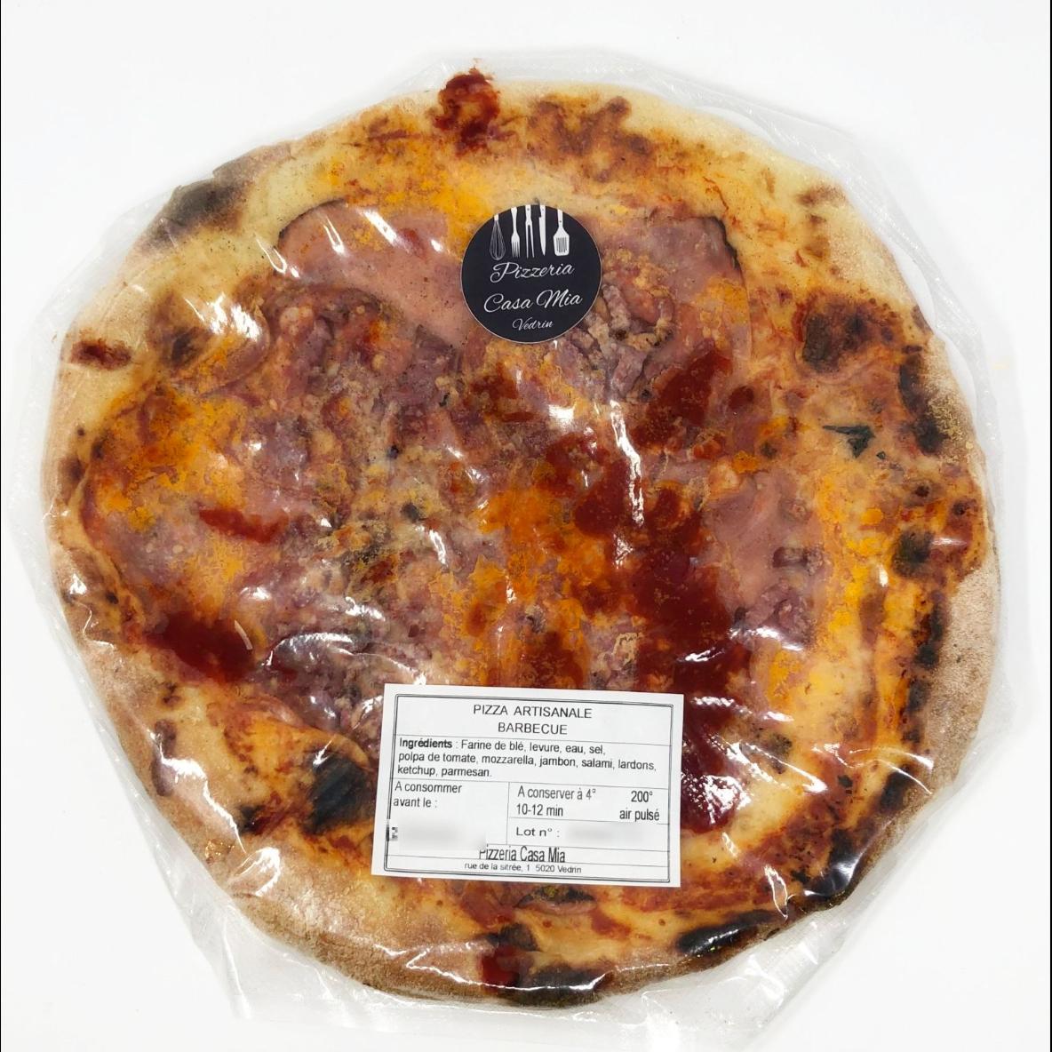 Pizza barbecue diamètre 30cm