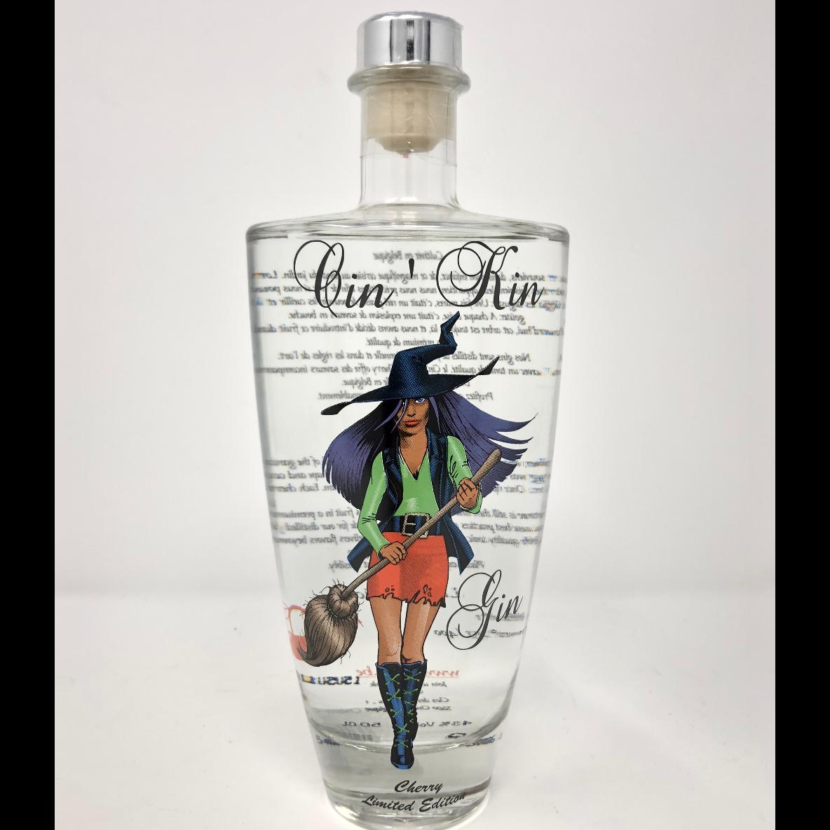 Gin Cherry Cin'Kin édition limitée 50cl