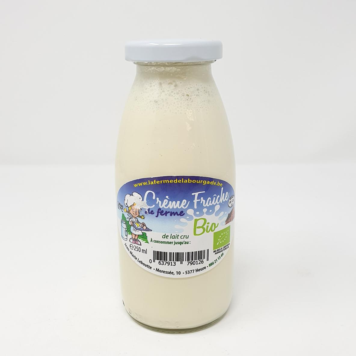 Crème fraiche bourgade bio 25cl