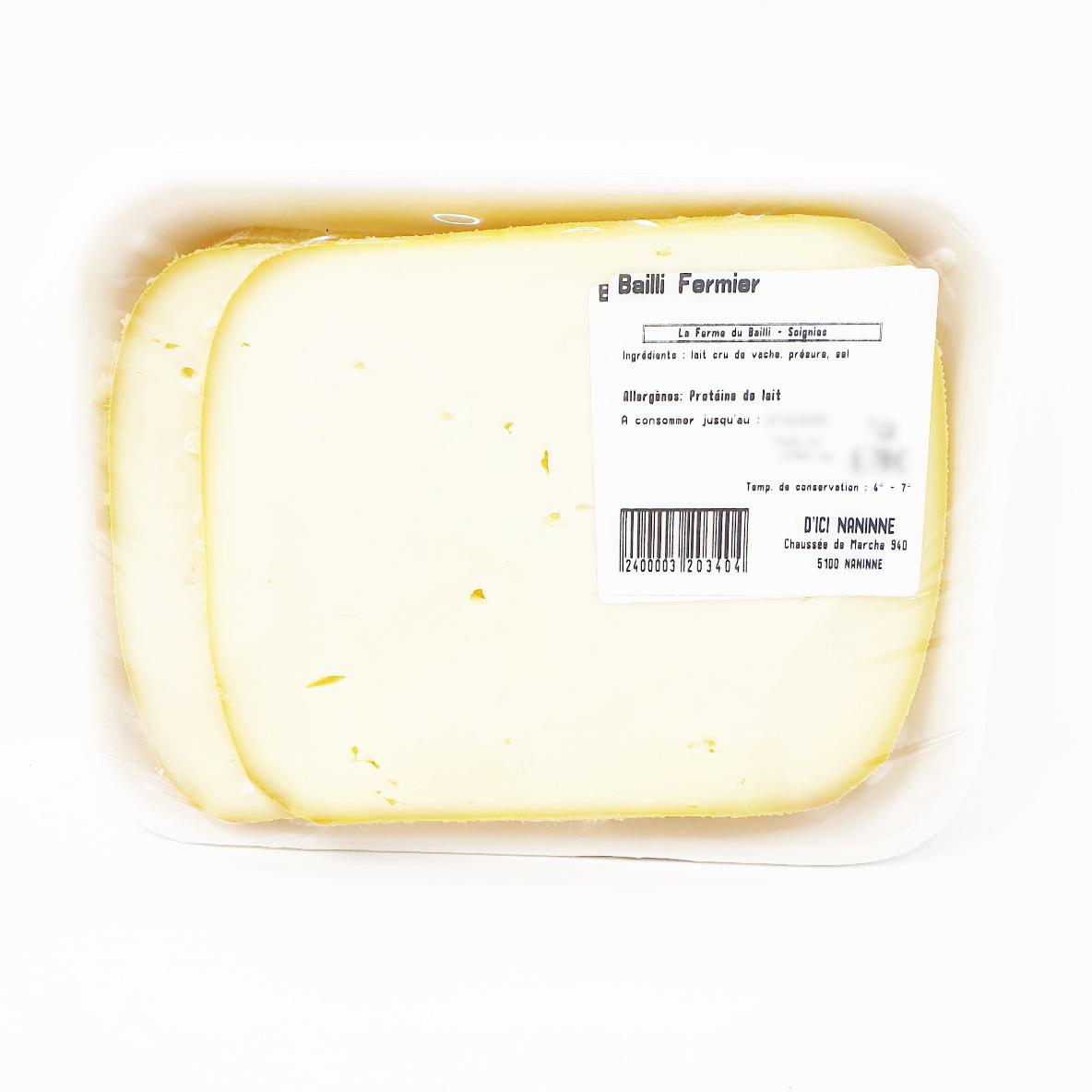 Bailli fermier pâte mi-dure  +/- 350 g