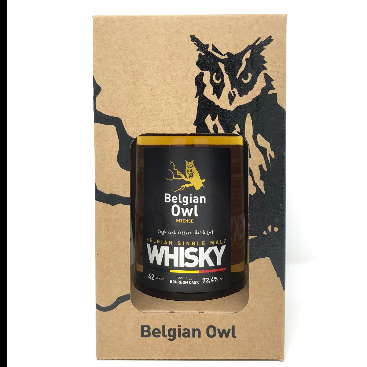 Belgian Owl Intense 50cl 72,4%