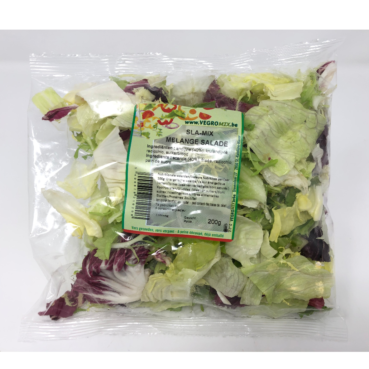 Salade mixte 200g