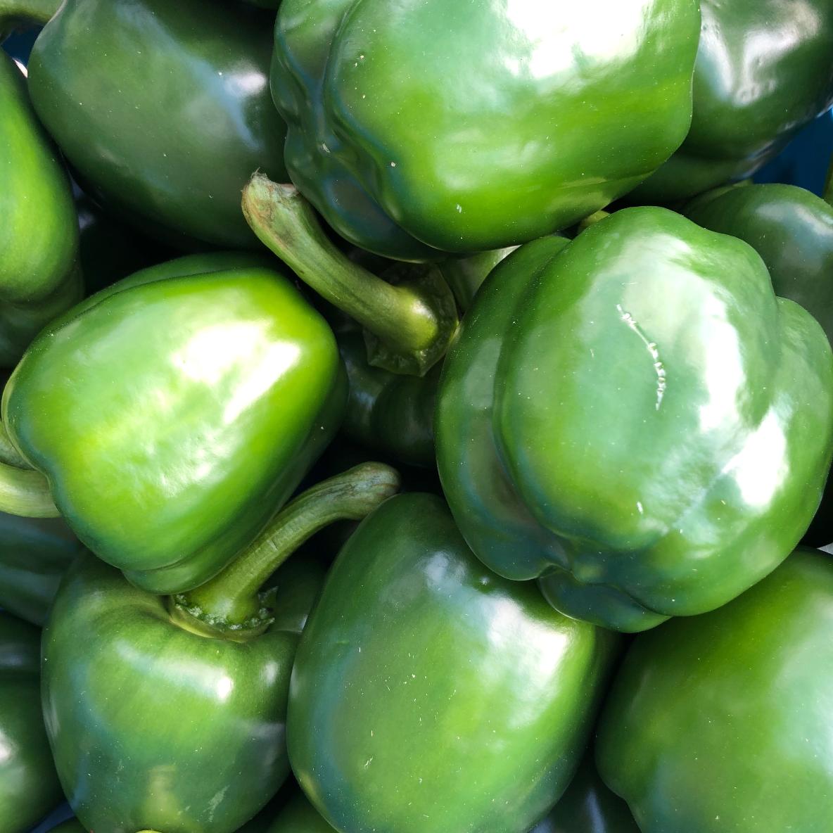 Poivrons verts 2p +/- 300g
