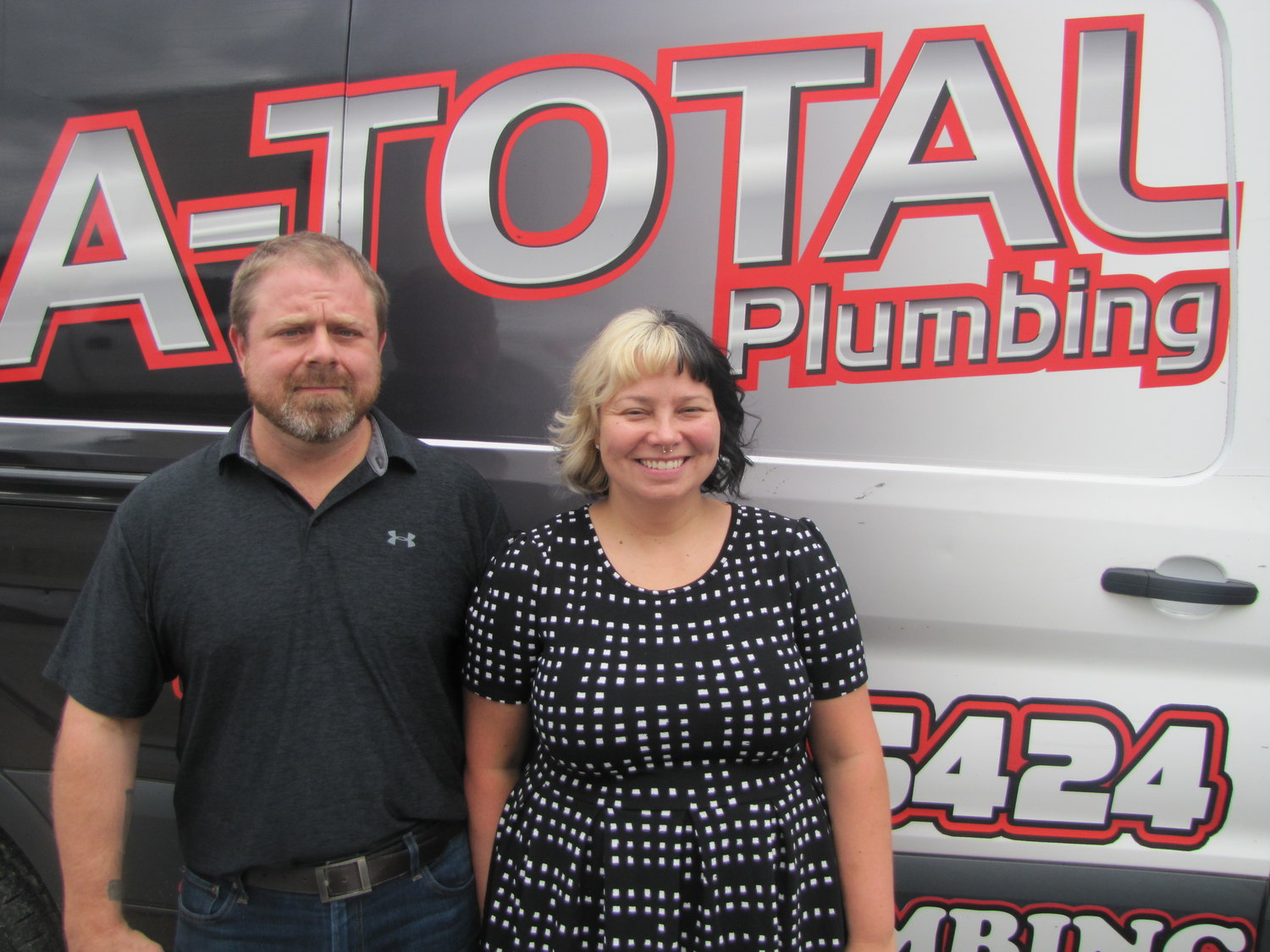 A-Total Plumbing owners, Rich and Felicia