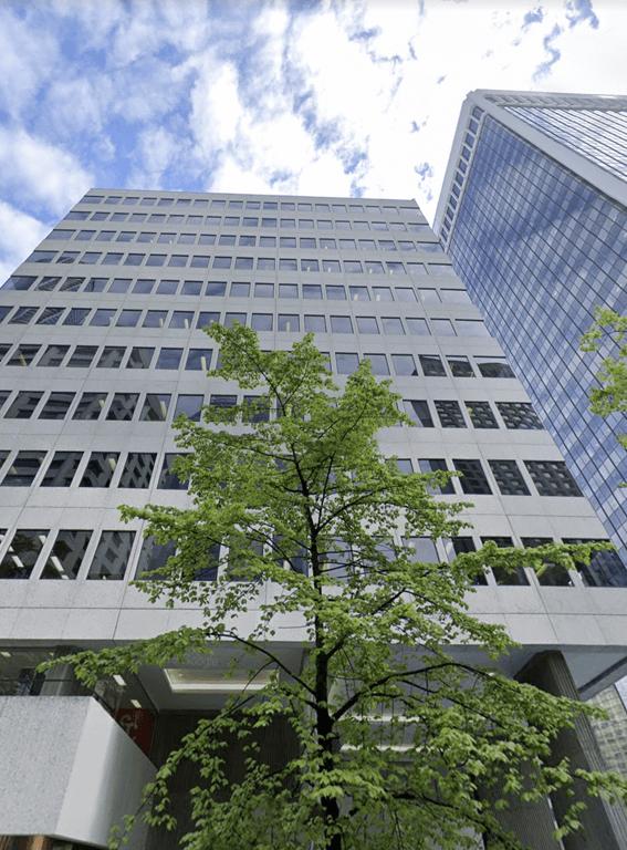 Headquarter building in Canada