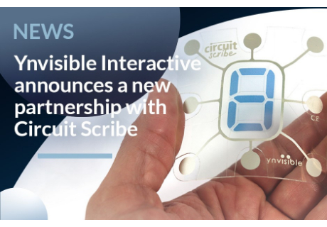 Ynvisible Interactive and Electroninks Bring Electrochromics to Educational Consumer Electronics