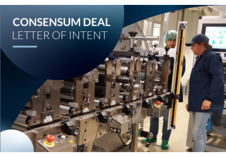 Ynvisible Interactive Signs Binding Letter of Intent to Acquire Consensum Production AB