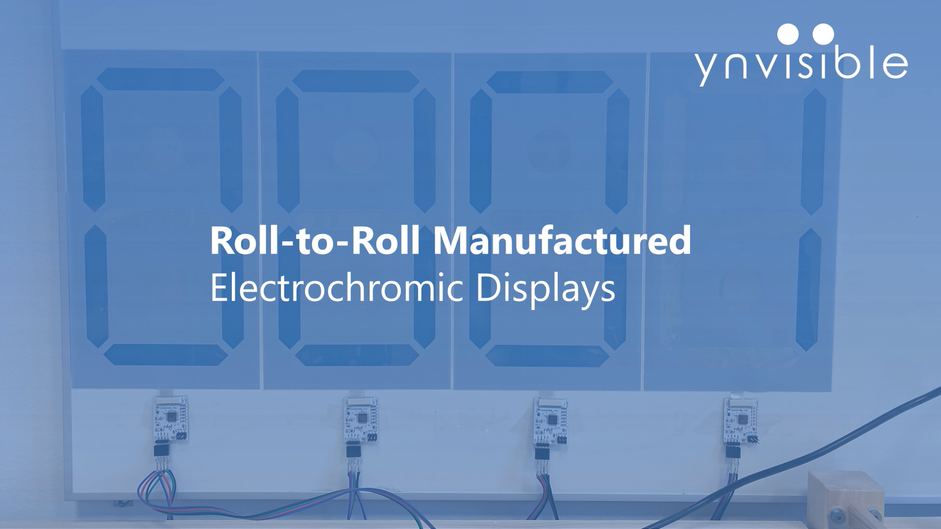 Ynvisible Delivers Roll to Roll Printed Scoreboard Displays to Pickletech
