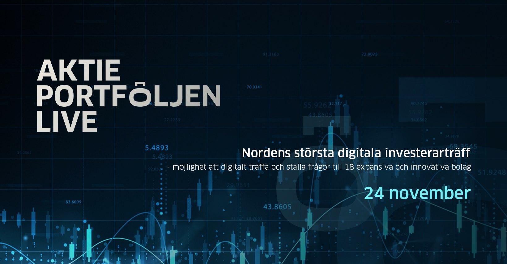 Aktieportföljen Live Investor Conference
