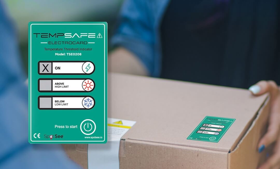 Ynvisible & SpotSee Announce Launch of New Temperature Indication Solution TempSafe Electrocard
