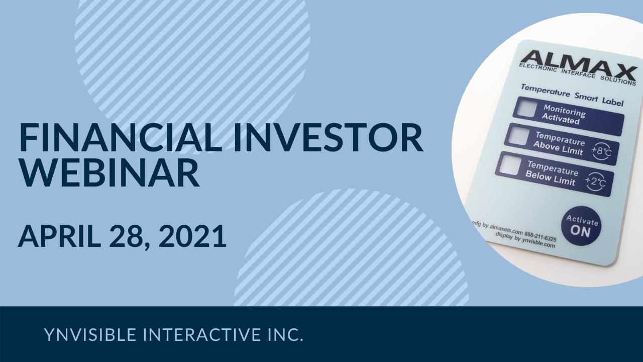 Ynvisible Interactive Financial Outlook Webinar