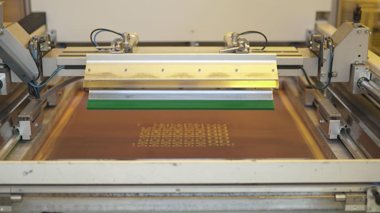 Screen Printing Preparation