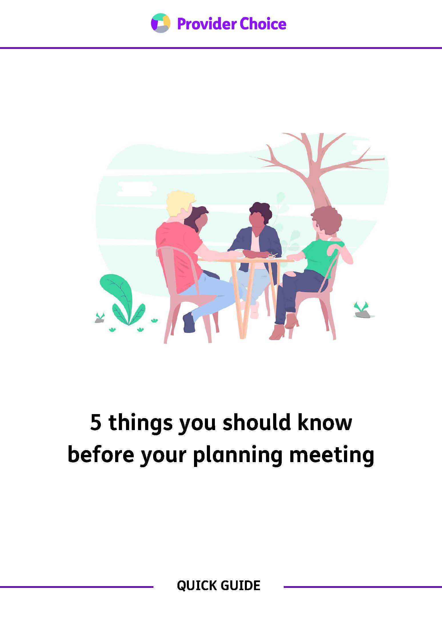 Five things you should know before your NDIS planning meeting