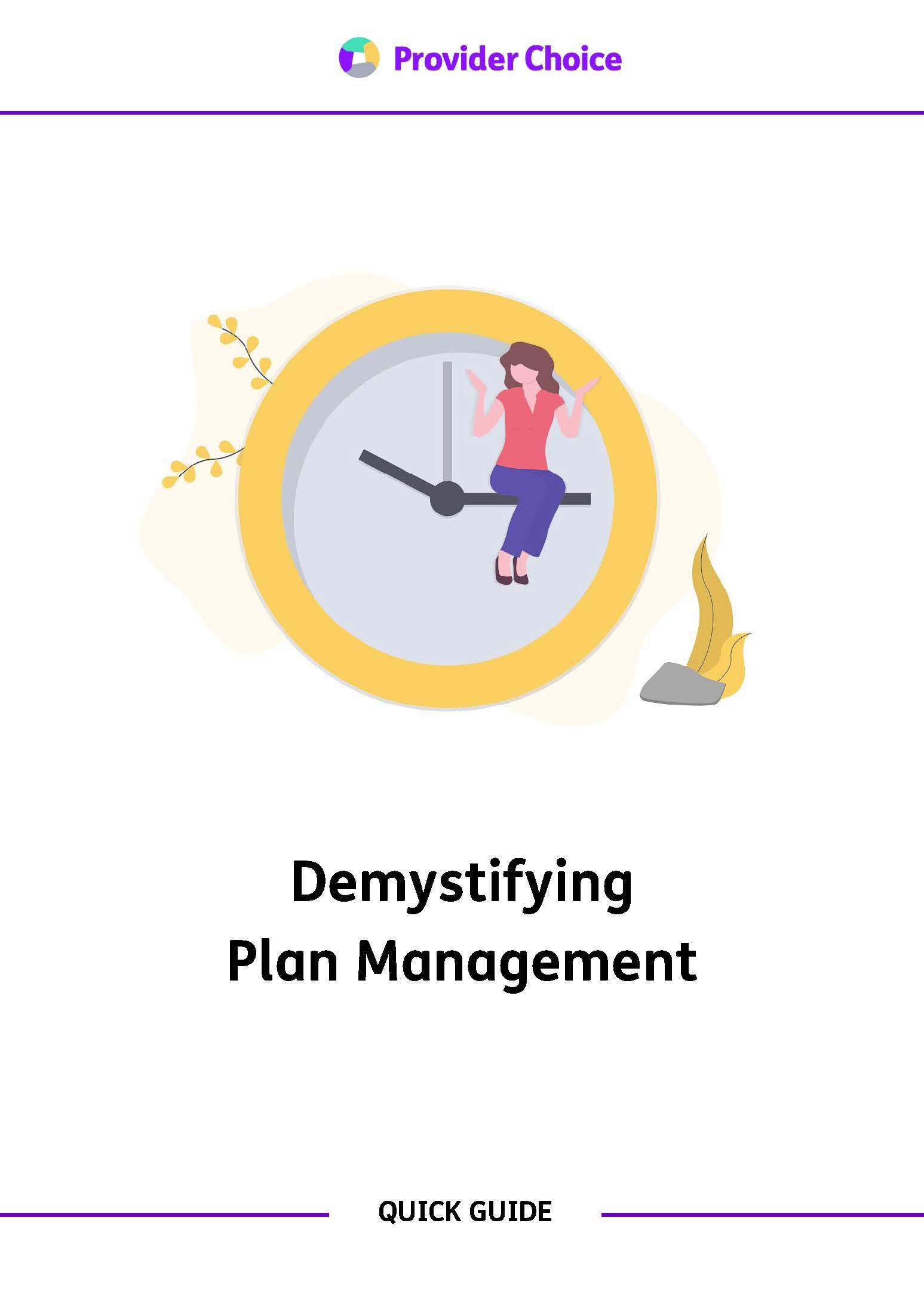 Demystifying Plan Management