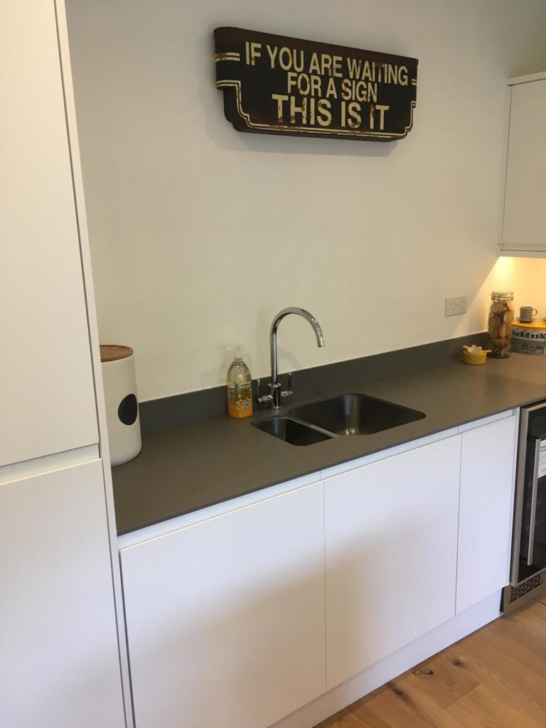 A lovely new sink in a kitchen