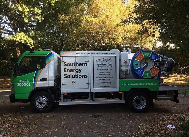 A Southern Energy Solutions JetVac van