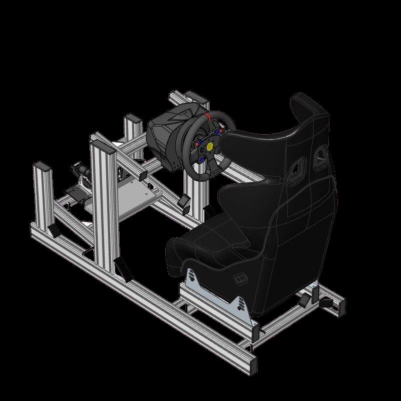 SRD-PRO Sim Racing Rig