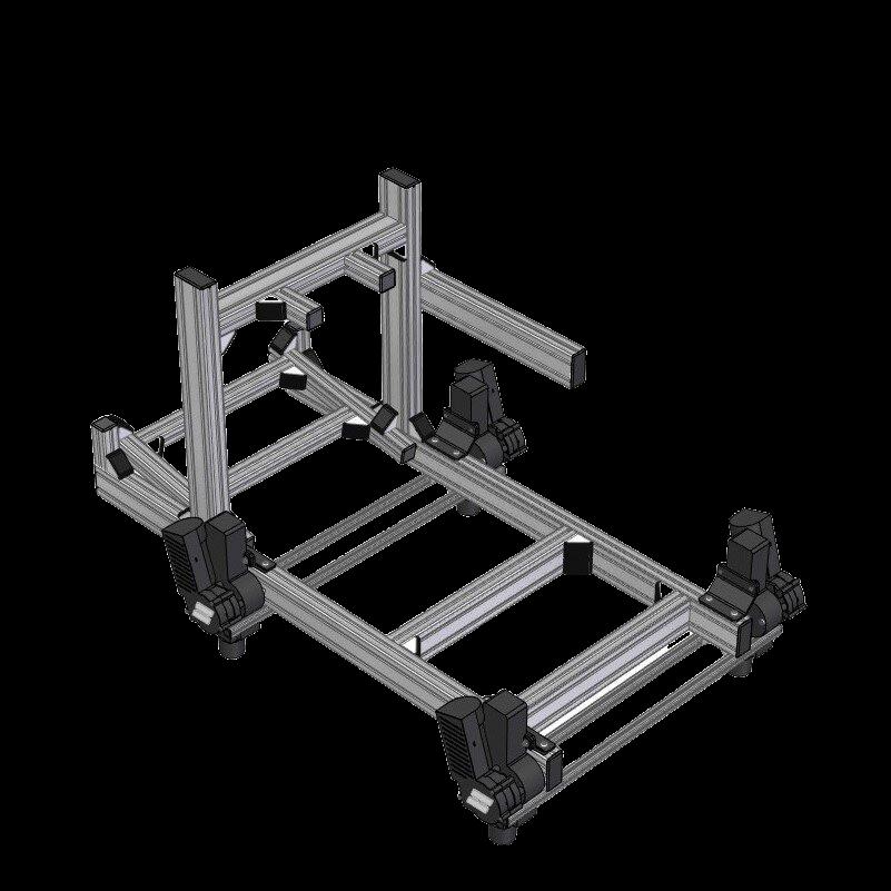 SRD SRD-MOTUS ULTIMATE Sim Racing Rig